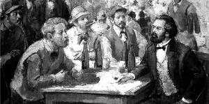 मज़दूरों की ज़िन्दगी, उनके काम, उनकी समस्याओं के बारे में जानने और उन्हें अपनी मुक्ति के सही रास्ते के बारे में बताने के लिए मार्क्स नियमित रूप से आम मज़दूरों से बातचीत करते थे